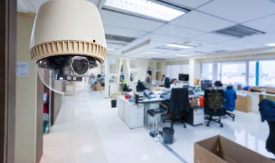Bürosicherheit dank Videoüberwachung