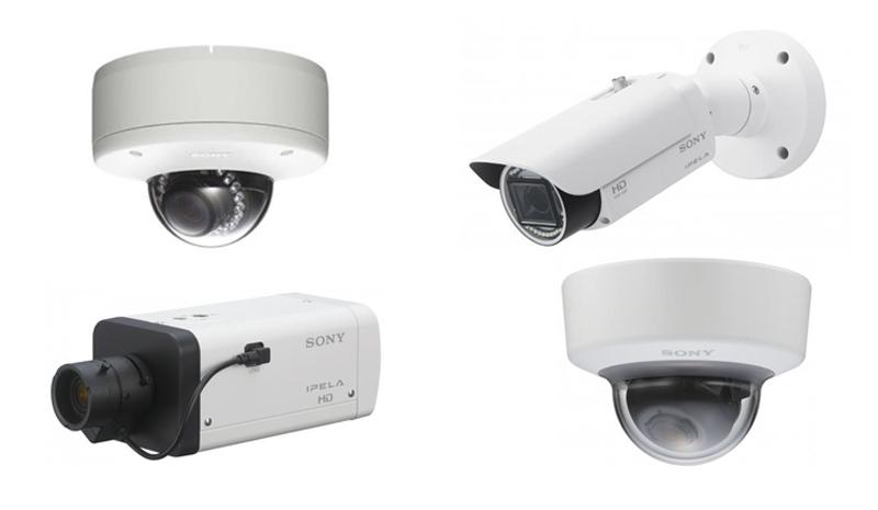 Die neuen Sony IP-Kameras